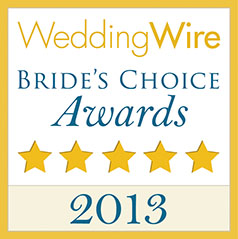 Wedding Wire 2013 Award Banner